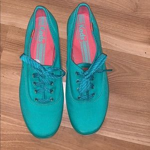Keds sneakers teal size 9